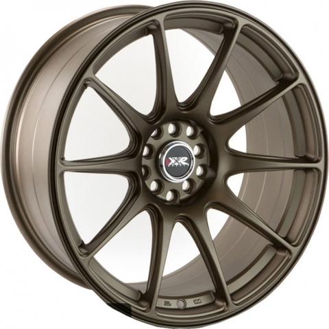 xxr wheels xxr 527 flat bronze 17 zoll xxr wheels. Black Bedroom Furniture Sets. Home Design Ideas