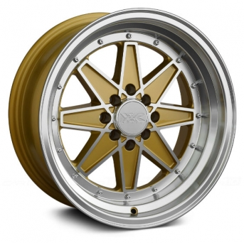 XXR Wheels - XXR 538 Gold Machined (15 inch)
