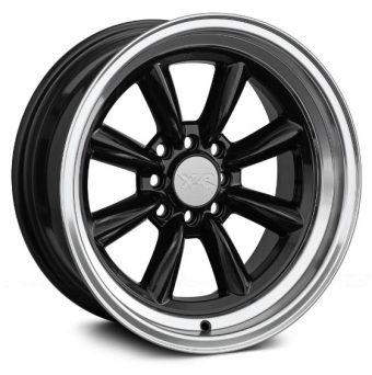 XXR Wheels - XXR 537 Black Machined (15 inch)