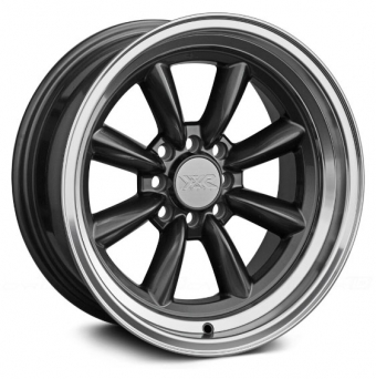 XXR Wheels - XXR 537 Gun Metal Machined (15 inch)