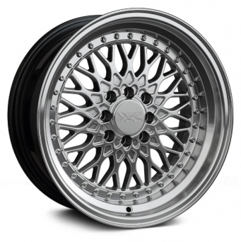 XXR Wheels - XXR 536 Hyper Silver Machined (15 inch)