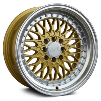 XXR Wheels - XXR 536 Gold Machined (15 inch)