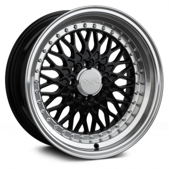 XXR Wheels - XXR 536 Black Machined (15 inch)