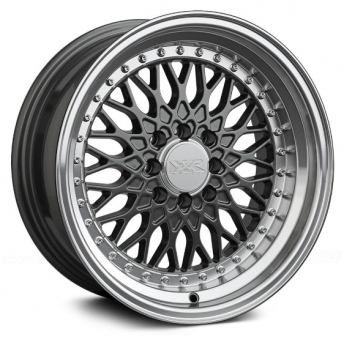 XXR Wheels - XXR 536 Gunmetal Machined (15 inch)