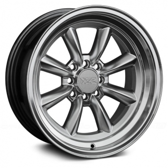 XXR Wheels - XXR 537 Hyper Silver Machined (15 inch)