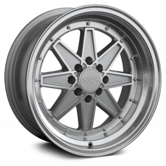 XXR Wheels - XXR 538 Silver Machined (15 inch)