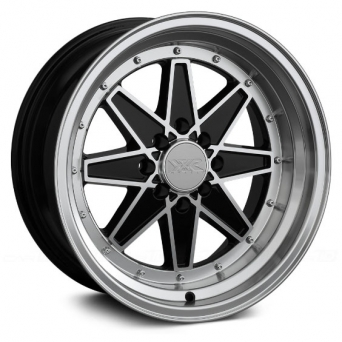 XXR Wheels - XXR 538 Black Machined (15 inch)
