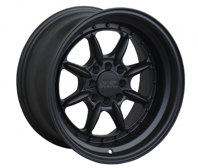 XXR Wheels - XXR 002.5 Flat Black (15 inch)