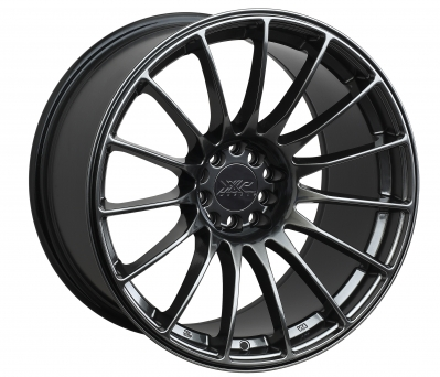 XXR Wheels - XXR 550 Chromium Black (18x8.75 -  5x100/114.3 - ET 36)