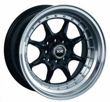 XXR Wheels - XXR 002 Black (15 inch)