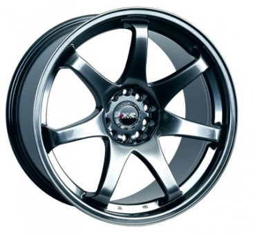 XXR Wheels - XXR 522 Chromium Black (15 inch)